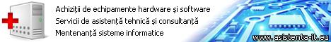 Asistenta IT pentru sisteme informatice