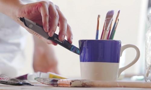 Scribble Pen pentru hârtie și tabletă cu senzor de culoare și cartuș reîncărcabil