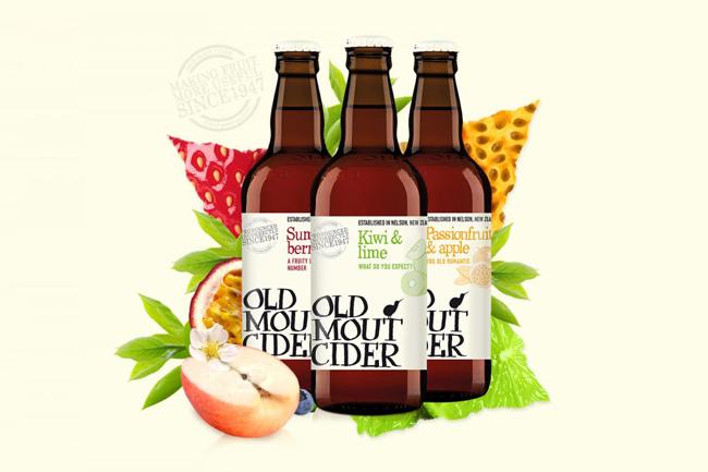Old Mout Cider, băutură răcoritoare ușor alcoolizată cu arome exotice