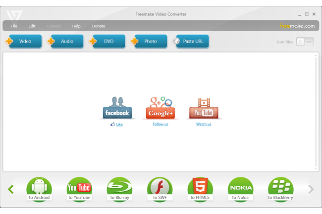 Transformă fișiere multimedia gratuit și rapid cu Freemake Video Converter