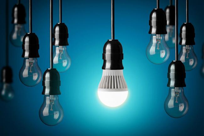 Alternativă economică de iluminat interior cu becuri LED