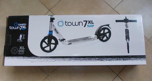 Cutie Trotinetă pliabilă Oxelo Town 7 XL