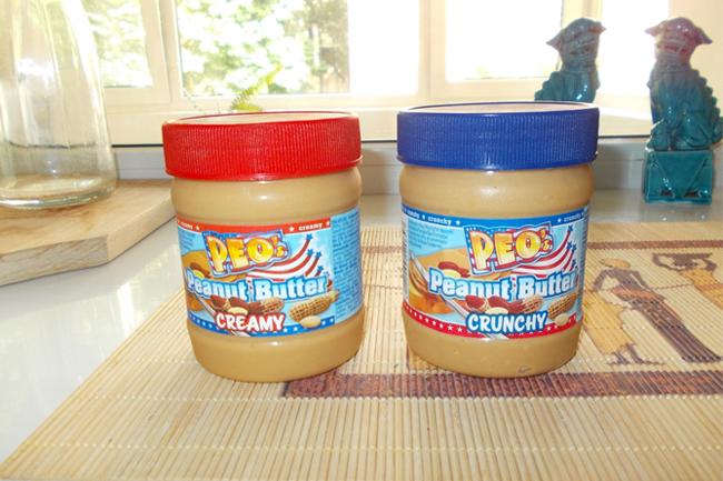 PEO's Peanut Butter, unt de arahide cremos sau crocant