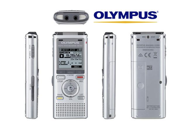 Reportofon digital Olympus WS-831 cu port MicroSD și USB retractabil