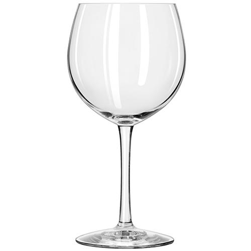 Pahar degustare oval pentru vinuri roșii
