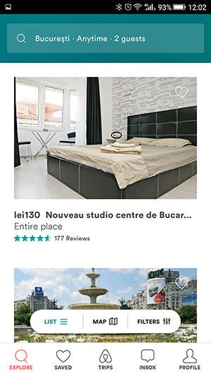 Airbnb funcționează și în România