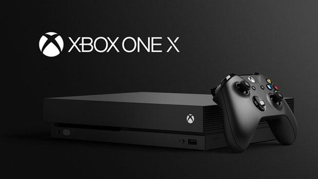 Noua consolă Xbox One X