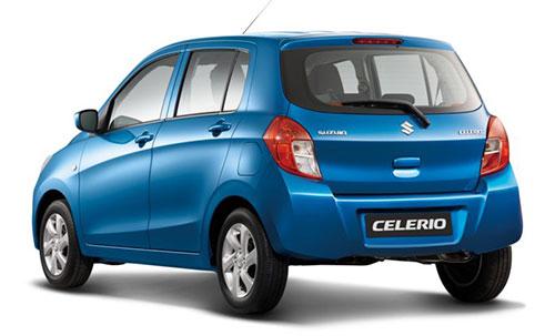 Suzuki Celerio cu vedere din spate