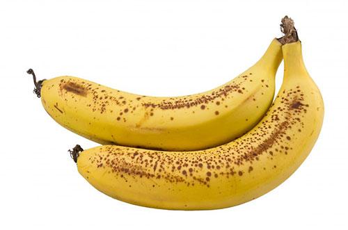 Bananele cu pete maro au un conținut ridicat de TNF