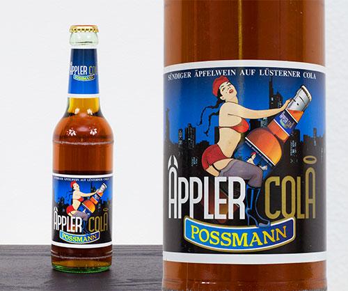 Cidru Possmann Appler Cola, 330ml - 3.5% vol
