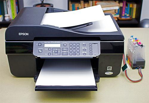 Epson InkJet Stylus Office BX305F cu sistem CISS