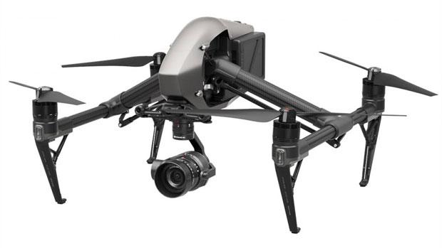 Cea mai scumpă dronă - DJI Inspire 2 cu cameră Zenmuse X5S