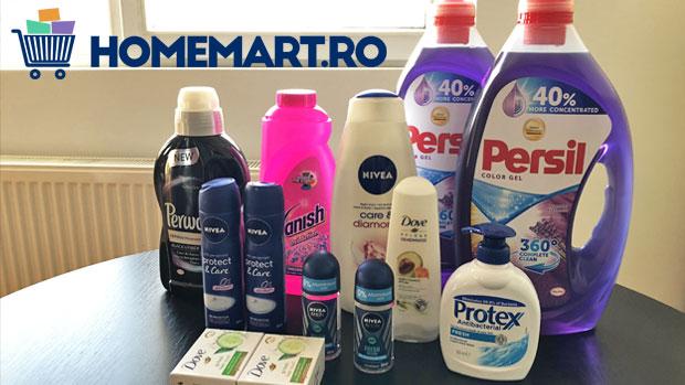 Cum am ajuns să-mi cumpăr online detergent pentru rufe